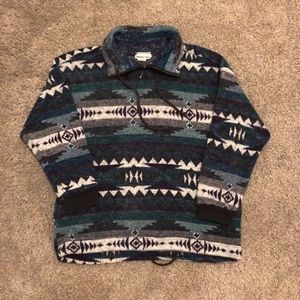 Vintage Quarter-zip Sweater